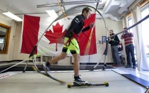 banda de alergat canadiana