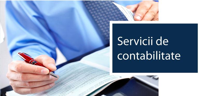 Servicii de contabilitate pentru firma ta