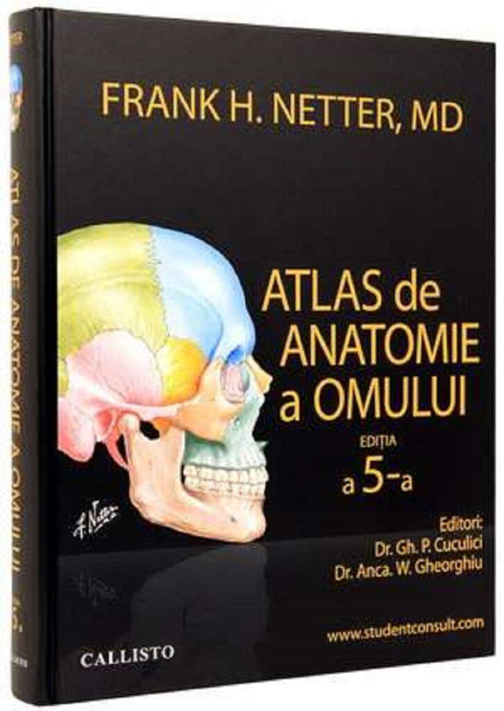 Atlas de anatomie a omului de Frank Netter, editia 5